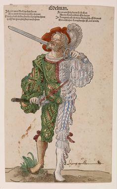 Nobleman, Niklas Stoer, c. 1530 | Museum Boijmans Van Beuningen