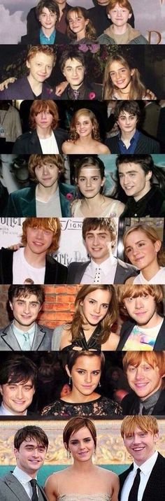 what movie do ron and hermione start dating