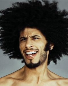 Funky Fro; Funky Brotha. ......if you like this image - please don't forget to share our Pinterest page on Facebook and Twitter.