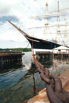 Åland Pommern museum ship. Photo Leo-setä