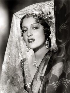 Movie Star Jeanette MacDonald 1937