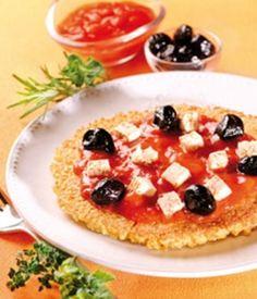 Recette bio de pizza au millet