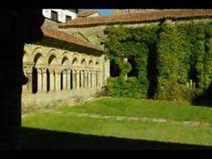 Fotos de: Cantabria - Santillana del Mar - Románico - Colegiata Santilla...