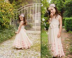 Vintage flower girl!