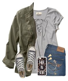 I Dunno About This Outfit...But Eh Whatever by twaayy on Polyvore featuring polyvore fashion style Hollister Co. L.L.Bean Abercrombie & Fitch Converse Alex and Ani Alexis Bittar Casetify clothing