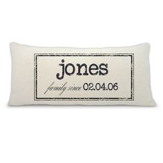 Personalized Personalized pillow by LoveYouMoreBoutique on Etsy, $33.00