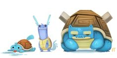 Digital Artist Creates Adorable Redesigned Pokemon Characters