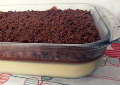 Mousse de maracujá e chocolate
