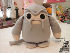 Handmade by Lissy Lou: Demiguise (inspired by the Harry Potter Series) Hp Harry Potter, Fantastic Beasts, Plush, Inspired, Sewing, Handmade, Crafts, Inspiration, Biblical Inspiration