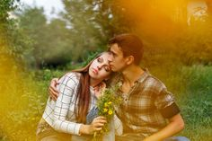Enamoured teens together. by Elena Vagengeim on @creativemarket
