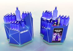 Absolut Display Stand on Behance