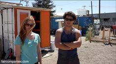 Shipping container living, Luke Iseman and Heather Stewart were tired of paying San Francisco rents and had always dreaming of living in a tiny home.