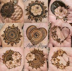 Round Mehndi Design, Palm Mehndi Design, Basic Mehndi Designs, Latest Henna Designs, Floral Henna Designs, Back Hand Mehndi Designs, Henna Art Designs, Mehndi Designs For Beginners, Mehndi Design Photos