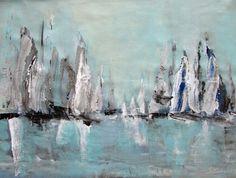 Malarstwo marynistyczne, ujęcie abstrakcyjne marynistyki by Sylwia Michalska