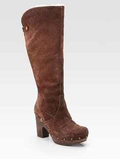 7f2b4681fa87 Knee-high UGG clogs. These look cute and comfy!! Ugg Clogs