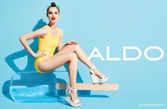 Anais Pouliot for Aldo Spring 2012 Campaign by Terry Richardson