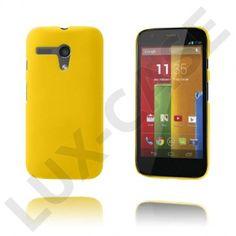 Hard Shell (Gul) Motorola Moto G Deksel