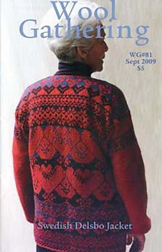 I love the tradition of knitting the date into the sweater.