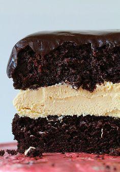 Buckeye cake and the biscoff book! ~ http://iambaker.net