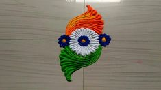 Happy independence day rangoli designs easy by jyoti