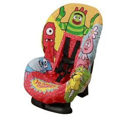 Yo Gabba Gabba Car Seat Cover  $14.09