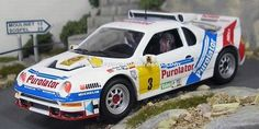 Rally RACE Madrid 1987 Ford RS200 Sainz/Boto 1/43
