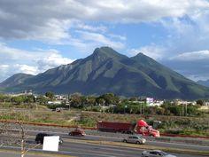 Cerro de la silla. Monterrey NL.