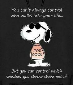Snoopy friend control
