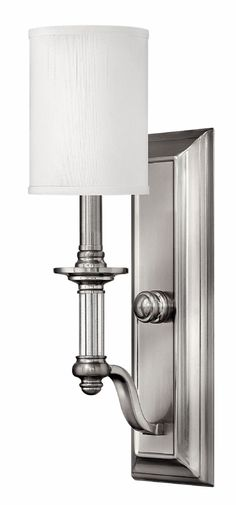 "Master Bath Sconce. Qty:4. Hinkley Lighting - 4790BN. 4.5""W x 17.8""H. Brushed Nickel"