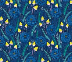 Lush fabric by jillbyers on Spoonflower - custom fabric