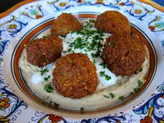 Traditional Recipe for Chickpea Falafel - This recipe is amazing. Super easy if you have a food processor. You don't even cook the beans, only soak! I love the box falafles but these are amazing! -Anna