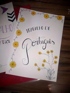Bullet Journal Titles, Journal Fonts, Easy Art Lessons, Art For Kids Hub, Study Planner, School Notebooks, Calligraphy Alphabet, Lettering Tutorial, Flower Doodles