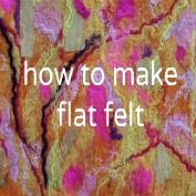 felting for beginners free tutorial! So EASY and sooo pretty and vibrant! So many options! Must try...