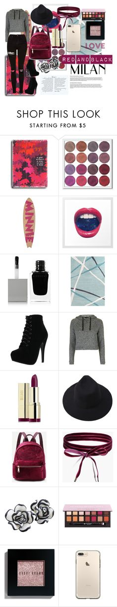"""""""Outfit #28"""" by leilani-huerta ❤ liked on Polyvore featuring ArteHouse, West Elm, Ethan Allen, Givenchy, Forever Link, Topshop, Milani, Boohoo, Anastasia Beverly Hills and Bobbi Brown Cosmetics"""