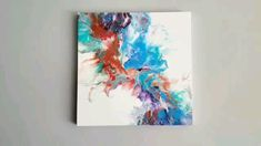 Acrylic Fluid Painting in 2020 Abstract Art Abstract Art Painting acrylic acrylicpainting fluid Painting Acrylic Painting Flowers, Acrylic Pouring Art, Acrylic Paintings, Long Painting, Orange Painting, Turquoise Painting, Abstract Canvas Art, How To Abstract Paint, Drawing On Canvas