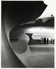 EZRA STOLLER, JFK AIRPORT TWA TERMINAL 1962: one of *the* architecture photographers of the 20th century.