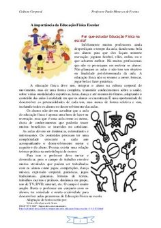 Apostila educação física escolar Importance Of Physical Education, Physical Education Games, Gymnastics For Kids, Art Education Lessons, Volleyball, School Supplies, Art