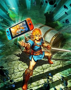 The Legend of Zelda with The Nintendo Switch