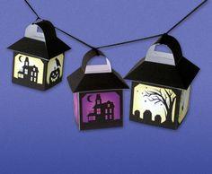 des lanternes colorées : imprimez, découpez, collez... et c'est tout !