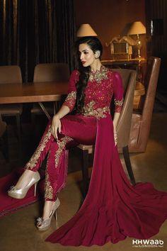 Bollywood Glamour by Malika maroon 6205 - KHWAAB LONDON - 1871 - Khwaab London