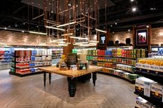 Parterre Vinyl Flooring Installation featuring product from the InGrained Collection   The Beer Boutique - Distillery District in Toronto, Ontario