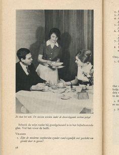 Zo kan het ook... From Kom aan tafel (come to the table), Netherlands, 1962