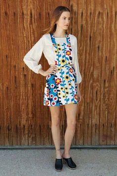 Patsy Floral Dress by LykkeWullf on Etsy