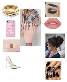 """Untitled #1805"" by glamor234 on Polyvore featuring Jimmy Choo, Salvatore Ferragamo and Recover"