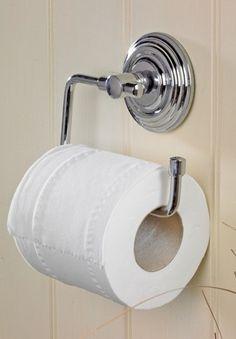 Chrome Matrix Toilet Roll Holder : Black Country Metalworks Ltd
