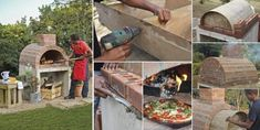 Fabriquer son propre four à Pizza! Diy Pizza Oven, Pizza Oven Outdoor, Outdoor Kitchen Bars, Bar Model, Four A Pizza, Barbecue, Innovation, Backyard, Patio