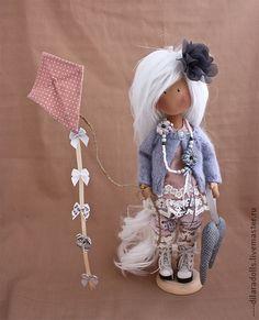 """Человечки ручной работы. Ярмарка Мастеров - ручная работа текстильная кукла """" AMELIA"""" продана. Handmade."""