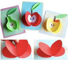 Frutti Toddler Art, Toddler Crafts, Easy Crafts, Diy And Crafts, Crafts For Kids, Arts And Crafts, Diy Paper, Paper Art, Paper Crafts