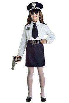 Resultado de imagen de disfraz policia niña Police Officer Costume, Tween Fashion, Cheryl, Costumes, Costume Ideas, Coat, Jackets, Vintage, Halloween Ideas
