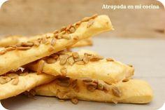 Atrapada en mi cocina: Barritas de pan de pipas. #pan #pipas #barritas #atrapadaenmicocina